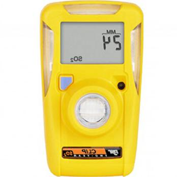 BW Honeywell Clip 2年Personal sulpher Dioxide (SO2) Single Gas Detector BWC2-S